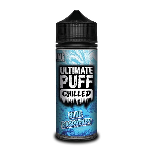 Ultimate Puff Chilled Blue Raspberry 100ML Shortfill