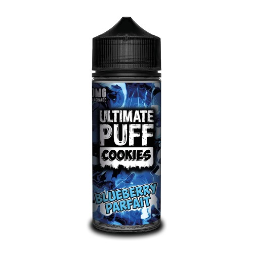 Ultimate Puff Cookies – Blueberry Parfait 100ML Shortfill